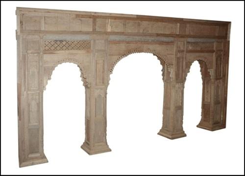 Antieke Bogenwand India