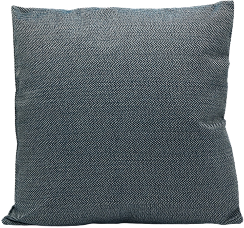 Cotton Cushion Blue