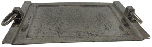 Dienblad Rechthoek Ring - Old Metal
