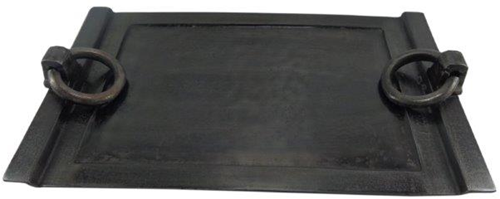 Dienblad Rechthoek Ring - Grey Felt