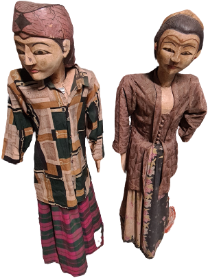 Statue Wenge/Wood