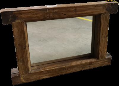 Spiegel met Houten Frame