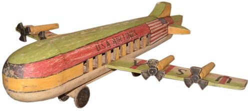 Houten Vliegtuig Oud