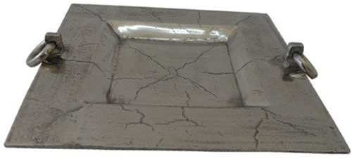 Vierkant dienblad 44x44x6 cm