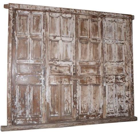 Oude deur met frame