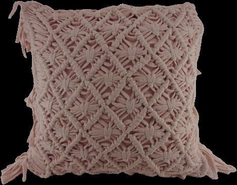 Katoenen Kussen Roze