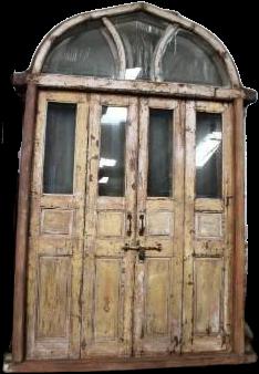 WD glazen deur met frame